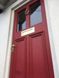 Accoya front door